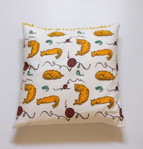 Cats pillow case