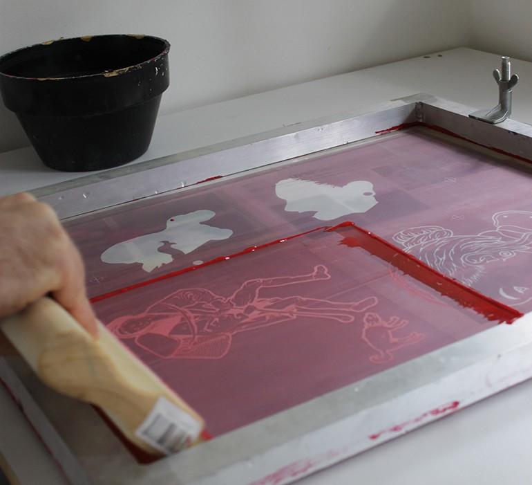 שירותי הדפס רשת על מוצרים
